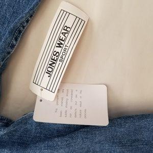 Jones Wear Jackets & Coats - Jones Wear Sport Denim Jean Jacket